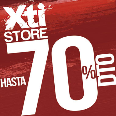 bc73398ecdb XTI STORE | SUPER SALES. The Outlet Stores Alicante ...
