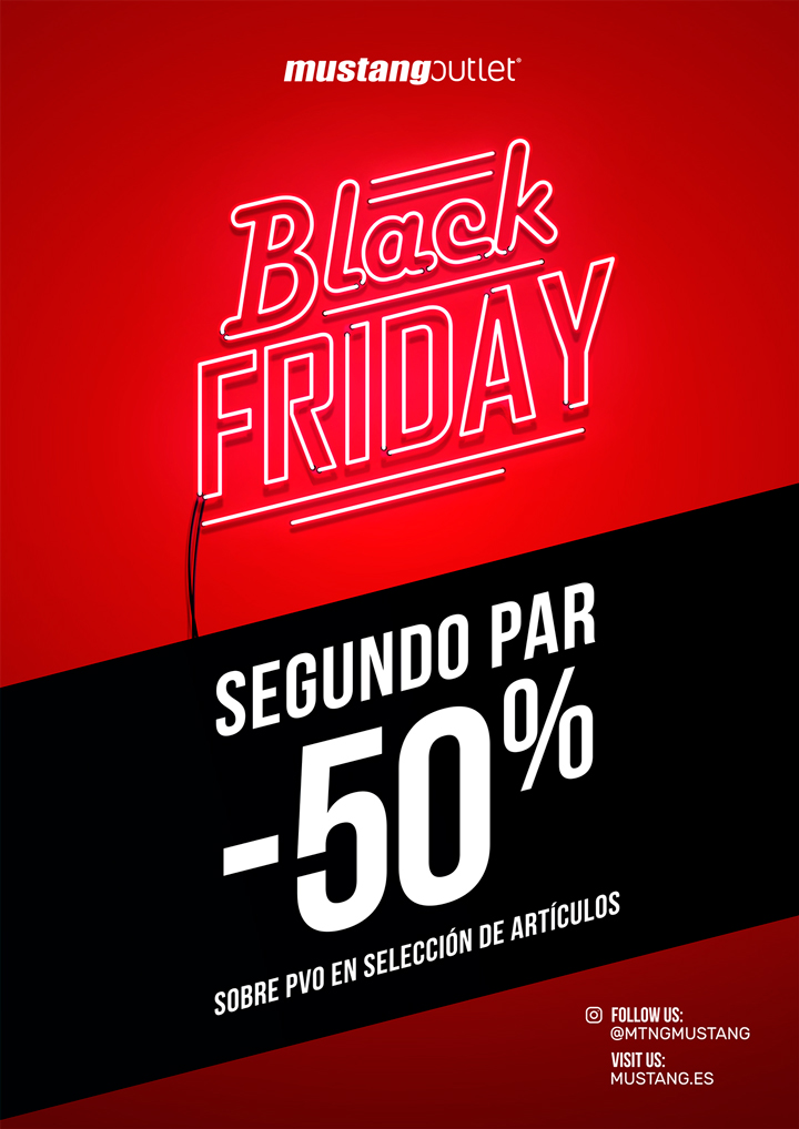mustang black friday