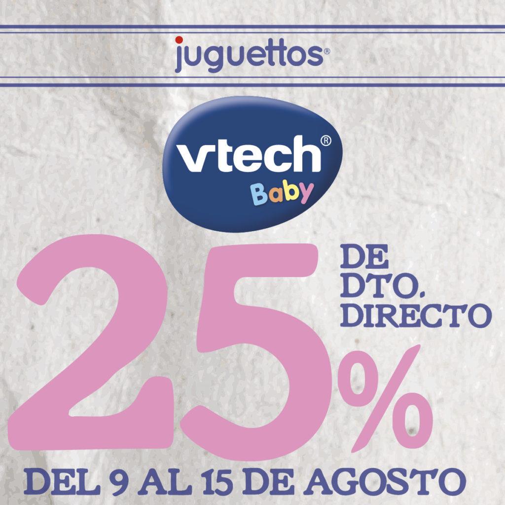 25% de descuento en 25% de descuento DIRECTO en Vtech Baby.